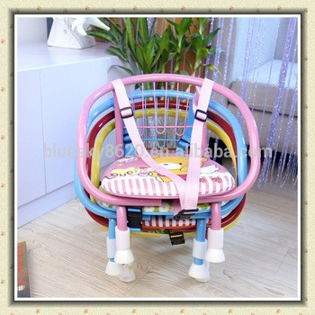 卡通印刷金属婴儿椅与口哨坐椅