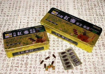 Natural pure korean red ginseng soft capsule P.E.