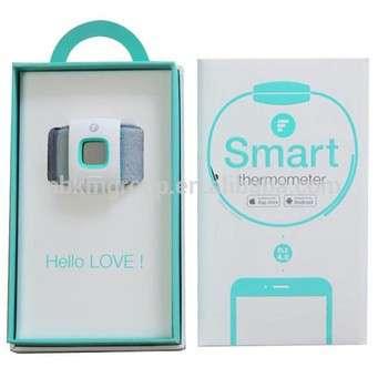 婴儿智能温度计智能可穿戴手镯蓝牙监听体温计