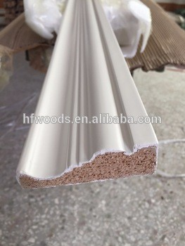 FSC美国底漆装饰木制装饰板成型家具装饰木线条