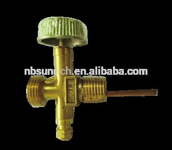 液化石油气钢瓶安全针形阀/黄铜阀