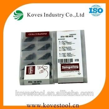 Tungaloy插入dtx4-040-ah725硬质合金刀片
