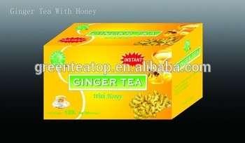 Instant Ginger Tea With Honey Teabag--Natural Honey and Ginger, tea drink, good taste