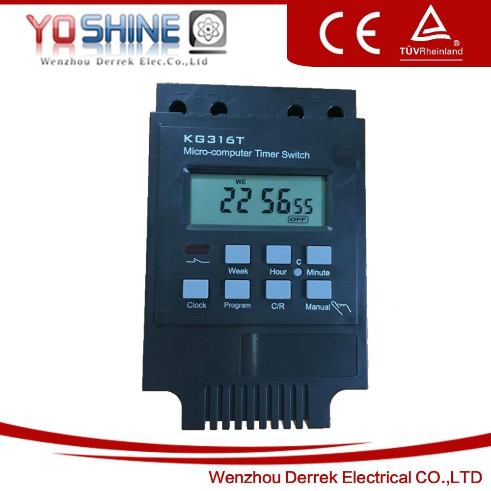 Digital Timer Time Switch Kg316t Microcomputer Programmable Circuit Controller Ac 220v