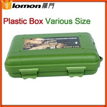 132×90×37mm防水环保塑料包装盒,塑料工具盒,塑料箱手电筒