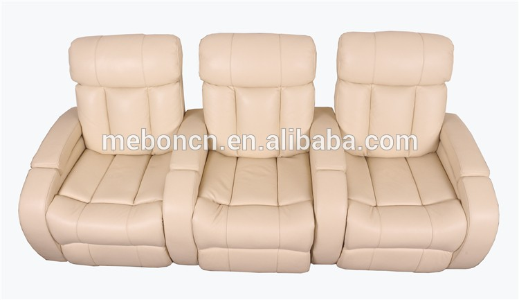 Awesome Beige Home Theatre Recliner Chair Cinema Chair Cheap Machost Co Dining Chair Design Ideas Machostcouk