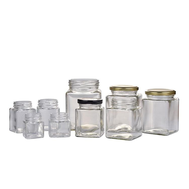 Food Grade Large Heat Resistant Sealing Glass Food Jar Storage