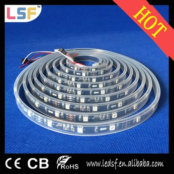 热售12V 30 / M SMD5050 LED RGB LED灯条为金牌供应商