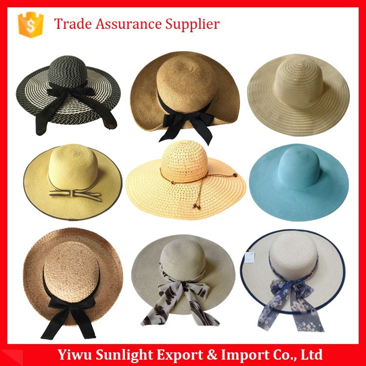 Promotion Straw Boater Hat Custom Straw Hat Blank Wholesale 0fb64818ab2