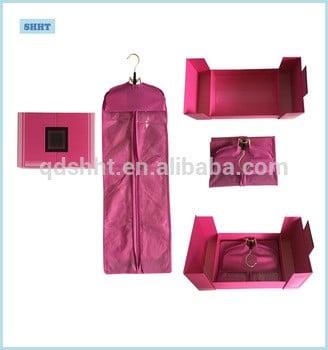 热烫定制发盒及包、衣架配套