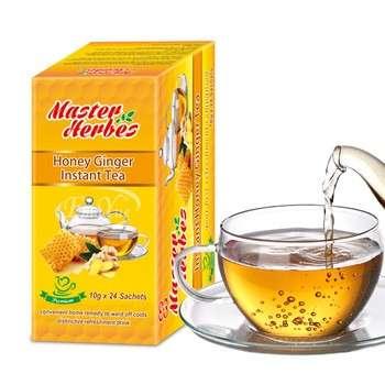 Herbal Ginger honey drink / Instant Ginger Tea Powder