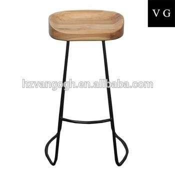 凳子工业凳,仿古的木头和金属工业铁凳子木