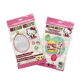 OPP自粘带自定义打印头挂孔的塑料袋