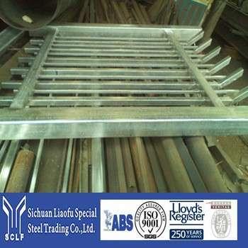 有竞争力的价格,原材料s235jr钢制造的4x4镀锌金属栅栏