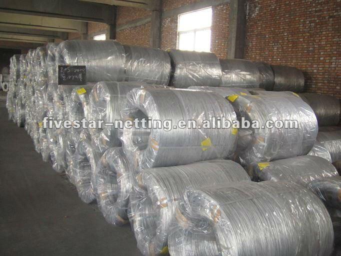 热镀锌钢丝厂
