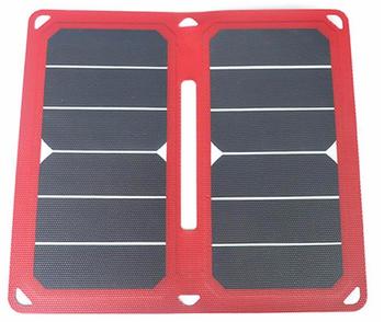 10W太阳能手机充电器的USB接口为手机MP4等数字设备