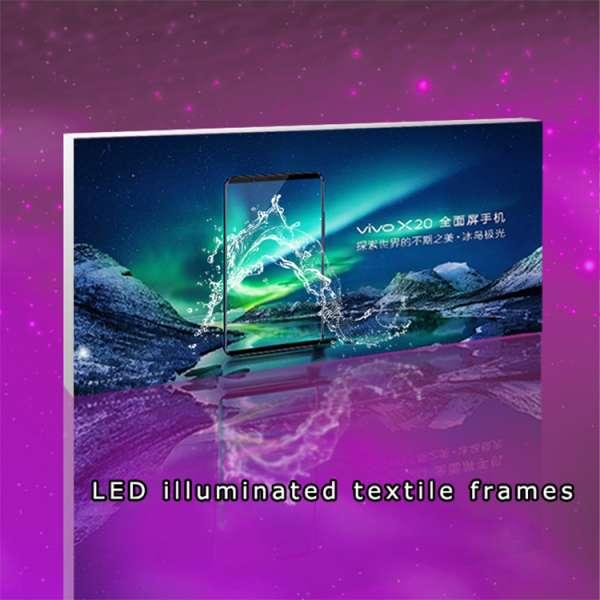 Light Box Textile Frames