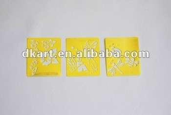 新来的艺术供应黄色模版