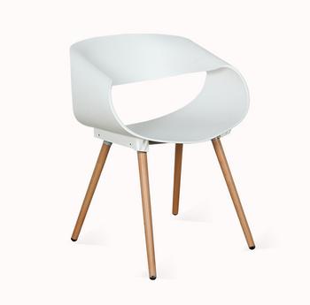 畅销新设计高品质现代塑料餐椅