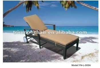 户外藤躺椅胜利椅/沙滩椅/休闲椅