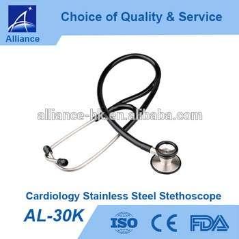 al-30k心脏病学不锈钢听诊器