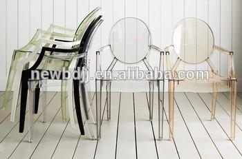 PC堆叠扶手豪华婚礼塑料酒店椅