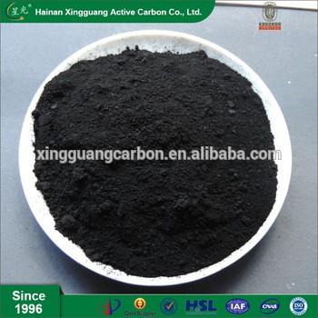 化工生产中的友好型黑色煤基粉末活性炭