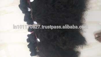 未经处理的体波处女发,维尔京印度头发,处女发7a速卖通印度原始人类头发的黑人妇女