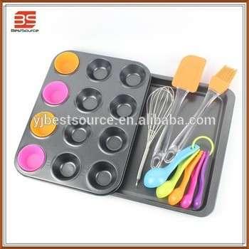 儿童烘焙集FDA等级在不粘硅胶工具