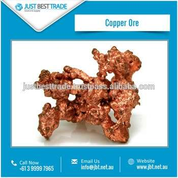 Soft, Malleable, Ductile Copper/Cu Ore Available from Certified Supplier