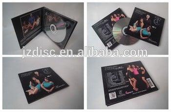 DVD光盘复制digipak