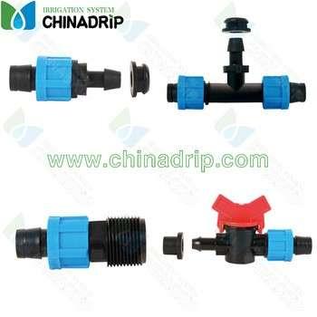 chinadrip连接滴灌带PVC
