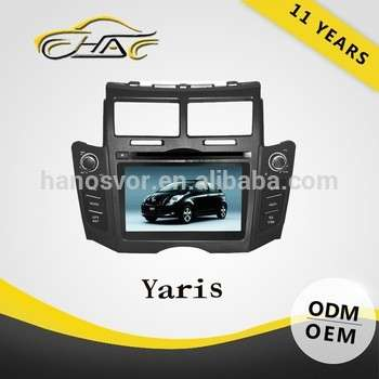 丰田雅力士GPS导航系统2 DIN无线电电视配件