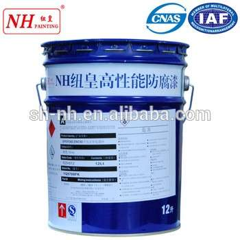 Chlorinated rubber red oxide primer coating