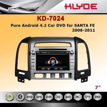 车载DVD GPS导航系统瑞芯3066配件现代Santa Fe