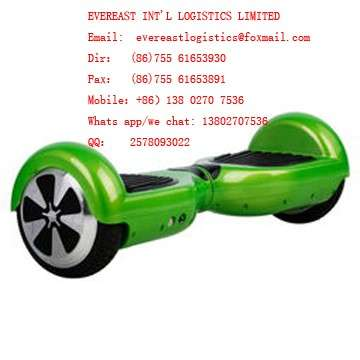 Electric Scooter/balance car door to door air freight shipping from Shenzhen China to Europe