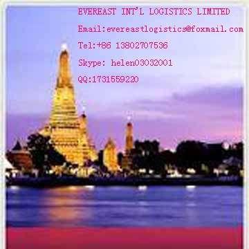 Road transportation shipping service from shenzhen,China to Bangkok,Thailand