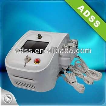 振兴你的脸和脖子,加强/音调/升降机您的皮肤射频+气蚀+二极管激光减肥设备