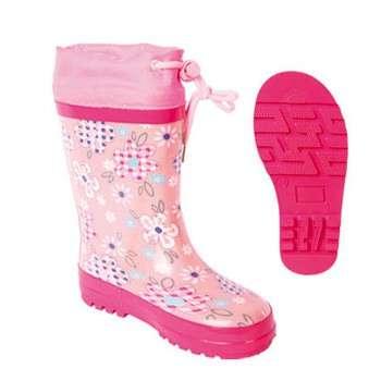 热销廉价儿童橡胶雨鞋