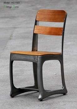 胜利的独特经典的法国小酒馆的椅子/老式椅子金属工业餐厅家具