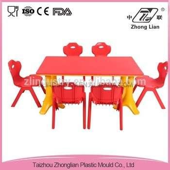 便宜儿童书桌可调设计幼儿园家具