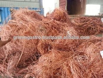 低铜低质高质量铜线废料