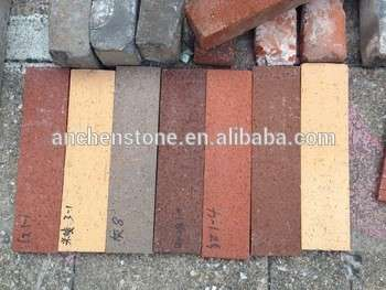 price for fireclay brick,clay bricks in different sizes and colors, outside wall brick,