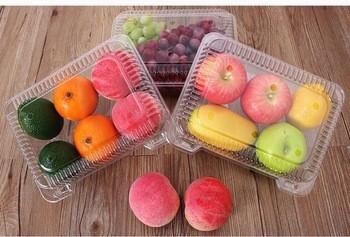 优质一次性真空成型食品级水果塑料容器或果盘
