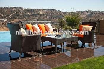 庭院部分家具PE藤藤沙发套布莱顿室外庭院花园家具