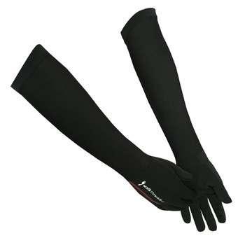 高弹力长袖口运动手套