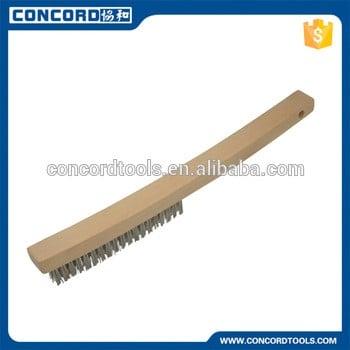 广州concordtools木柄钢丝刷清洗工具