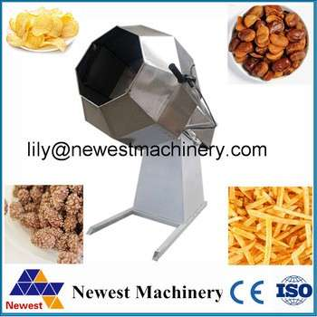 Snack food processing machine potato chips making flavoring machine seasoning machine for snack