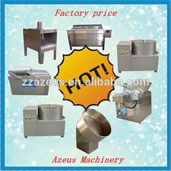 200kg/h industrial plantain processing banana chips seasoning machine/fried pisang banana chip producing line