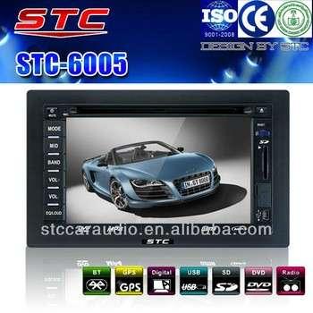 汽车配件6.2英寸触摸屏车载DVD与GPS导航USB蓝牙